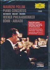 Maurizio Pollini Piano Concertos DVD NEW Claudio Abbado Vienna Philharmonic