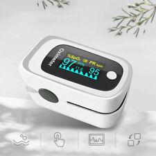 OLED Oximeter Finger Pulse SPO2 PR PI ODI + Sleep Curve Monitoring Curve FDA/CE