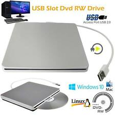 1x USB External Slot CD RW Drive Burner SuperDrive for MacBook Air Pro iMac Mac
