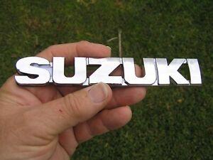 SUZUKI SCRIPT BADGE Emblem 155mm *NEW* Swift etc