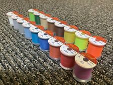 [Hitena] Stwrap Rod Wrapping (Winding) Thread - Ncp 17 Color Complete Pack