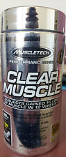 Muscletech Clear Muscle 168 Liquid Capsules Expedited Ship Clear Muscle