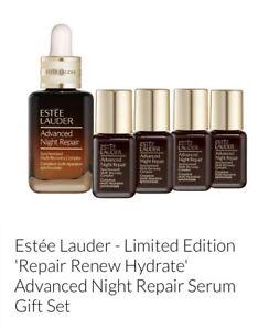 Brand New Estee Lauder Advanced Night Repair Renew Hydrate Gift Set 30ml+4x7ml
