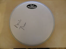 MIKE RUTHERFORD Signed Drum Skin GENESIS COA