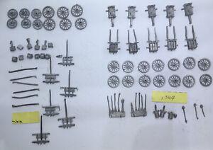 15mm Minifigs Crimean War - British Limbers & British 10inch Mortars with Limber