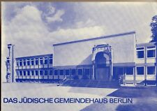 Booklet with 10 Special Stamps Celebrating the Opening of a Synagogue in Berlin