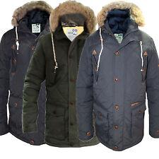 Fur Hooded Parkas for Men