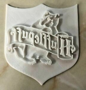 HARRY POTTER HOUSE BADGE Cookie Cutter/Icing or Fondant Cutter HufflePuff