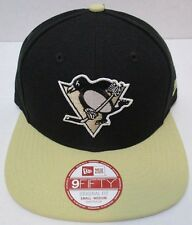 NHL Pittsburgh Penguins Hockey New Era 2Tone 9FIFTY Snapback Adjustable Cap -New