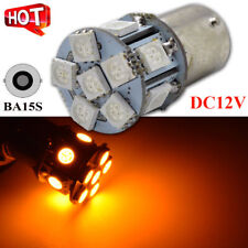 2X  P21W 382 1156 BA15s 5050 LED 13-SMD Tail Indicator Car Bulbs YELLOW AMBER