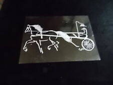 Carriage Horse Decal Truck Trailor Car 5X7 Instructions To Apply Picture #2