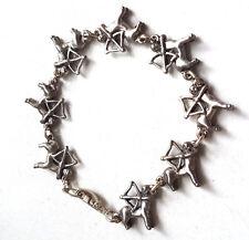 Vintage Sagittarius Astrology Zodiac Centaur Bracelet