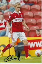 MIDDLESBROUGH HAND SIGNED TARMO KINK 6X4 PHOTO 2.