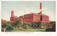 Postcard Bureau of Printing and Engraving Washington DC