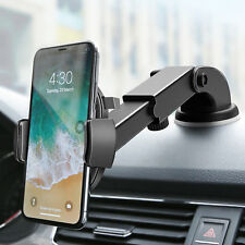 Adjustable Car Phone Holder GPS Mount Automatic Lock Stand Powerful Suction New