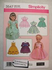 18 inch Doll Clothes Sewing Pattern 3547 S See Full Listing Info