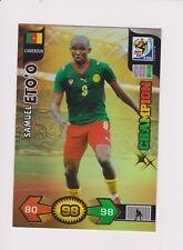 PANINI ADRENALYN XL WORLD CUP 2010 SOUTH AFRICA CHAMPIONS CARD SAMUEL ETO`O