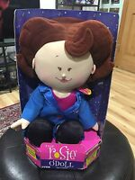 Vintage Rosie O Donnel Doll Toy Tyco