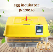 JANOEL 42 Egg Incubator Digital Fully Automatic Turning Digital  Hatcher Quail