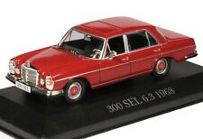 1:43 Altaya - Mercedes Benz 300 SEL 6.3 1968 W109 - rot