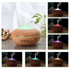 300ML LED Diffusore Aromi Ultrasuoni Vaporizzatore Oli Essenziali Purificatore