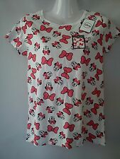 NICE NEW MINNIE MOUSE LADIES WOMENS TOP BLOUSE T-SHIRT SIZE 8