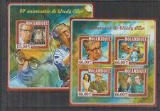 J434. Mozambique - MNH - Famous People - Woody Allen - 2015