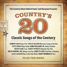 Country's 20 Classic Songs of the Century, Various Artists, Good