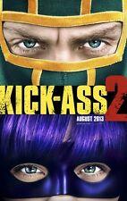 KICK-ASS 2 ORIGINAL Advance DOBLE CARA PELÍCULA PÓSTER 69x102cm Hit Niña