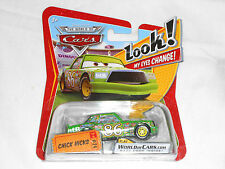 NEW Disney Pixar Cars CHICK HICKS No. 24 World of Cars Look My Eyes Change #24