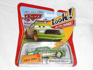 NEW Disney Pixar Cars CHICK HICKS No. 24 World of Cars Look My Eyes Change #24