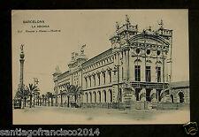 1308.-BARCELONA -636 La Aduana (Hauser y Menet) Postal sin división