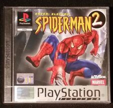 Spiderman 2 Enter Electro  PS1 .✔ Sony Playstation 1 One ✔ UK PAL ✔ NEW SEALED ✔