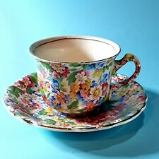 Vintage James Kent Chintz Demitasse Set