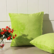 Candy Color 40x40CM Square Home Decor Sofa Throw Pillow Case Cushion Cover New