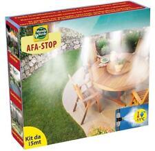 AFA STOP Kit Di Nebulizzazione Per Esterni Da 15 Mt Impianto Nebulizzatore Acqua
