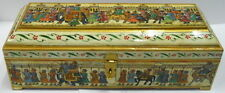Box procession Painting decorative Wooden and bone work collection jewelry box