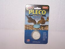 NIP new old stock Zoo Med Pleco Banquet Block .45 oz exp date 3-24-17