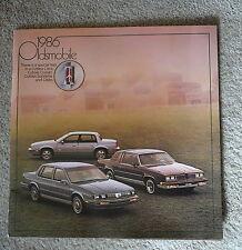 OLDSMOBILE 1986 CUTLASS CIERA CRUISER SUPREME & CALIAS OLD SHOWROOM BROCHURE