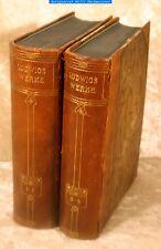 Ludwig,Otto-Ludwigs Werke-4Bd`e in 2 Bd`n. Halbleder Bong o.J.-Hrsg. A.Eloesser