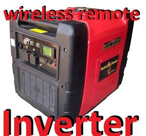 7.5KVA / 6KVA  SILENT INVERTER GENERATOR SINE WAVE LCD REMOTE START ECONOMY MODE