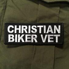 Christian Biker Vet Patch