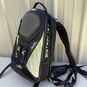 Motorfist Argo Avalanche Airbag Backpack - Black & Hi-Vis FG Backcountry Ski