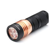 Astrolux S41 4x Nichia 219C/XP-G3 A6 1600Lumens Mini LED Flashlight