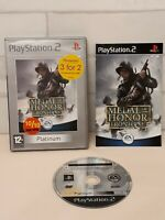 Medal Of Honor Frontline - Platinum -  PS2 Game - Complete with Manual/Book -