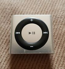 Apple iPod Shuffle 4th Generation - Silver - 2GB Serial CC6GK5NKDCMJ