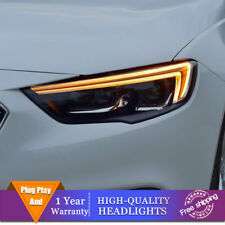 For Buick Regal Headlights Double Lens Beam Projector Full LED DRL 2018-2019