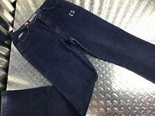 Ecko Red Cotton Women's Blue Jeans No Belt Loops Vintage Style Junior Sz 9