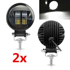 "3"" Round 20W LED Light Pod Off Road ATV Truck SUV Car Work Head Spot Light 2X"
