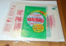 10X  MLB Baseball Canada - 1984 O-PEE-CHEE Empty Wrappers